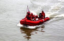 救援队 免版税库存照片