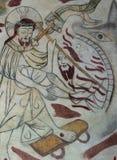 救死亡的下颌的基督一个人 免版税库存照片