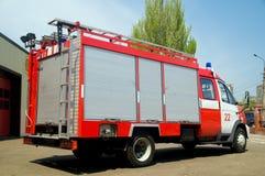 救火车俄语 免版税库存照片