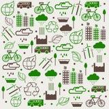 救球Eco汇集的概念 免版税库存照片