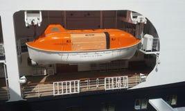 救生艇 库存图片
