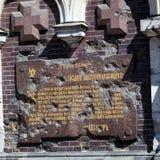 救主的教会溢出的血液的,圣彼得堡 免版税库存图片