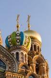 救主的教会的片段血液的在圣彼德堡 免版税库存照片