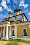 救主` s 18世纪的变貌大教堂在Uglich,俄罗斯 免版税库存照片