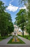 救主` s 18世纪的变貌大教堂在Uglich,俄罗斯 库存照片
