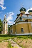 救主` s 18世纪的变貌大教堂在Uglich,俄罗斯 图库摄影