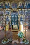 救主` s 18世纪的变貌大教堂在Uglich,俄罗斯 免版税图库摄影