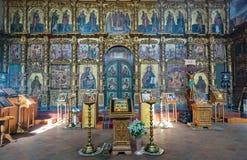 救主` s 18世纪的变貌大教堂在Uglich,俄罗斯 免版税库存图片