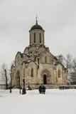 救主& x28的大教堂; 斯帕斯基Cathedral& x29;在Andronikov修道院里 库存照片