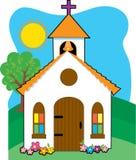 教会一点 免版税库存照片