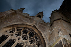 教会万圣节 免版税图库摄影