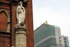 教会上海 免版税图库摄影