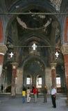 教会中世纪火鸡 免版税图库摄影