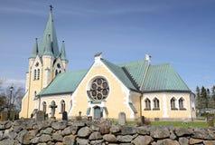 教会中世纪瑞典 免版税图库摄影