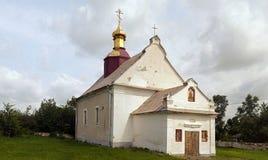 教会中世纪老 免版税库存图片