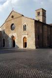 教会中世纪terni 库存图片