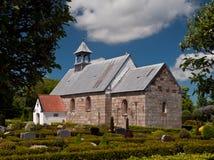 教会丹麦 免版税库存照片