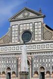 教会佛罗伦萨玛丽亚中篇小说圣诞老人 免版税库存照片