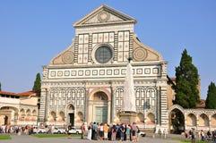 教会佛罗伦萨玛丽亚中篇小说圣诞老&# 免版税库存图片
