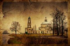 教会俄语 免版税图库摄影