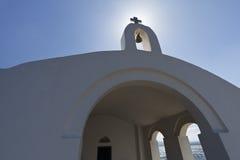 教会克利特海岛 库存图片