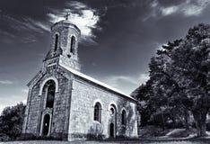 教会克罗地亚 免版税图库摄影