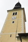 教会克罗地亚 免版税库存照片
