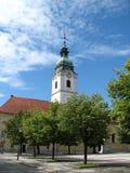 教会克罗地亚karlovac三位一体 库存照片