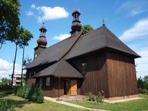 教会克罗地亚makarska标记手段sts 多萝西 免版税库存照片
