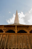 教会入口的阳台 库存照片