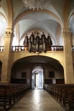 教会全视图  库存图片