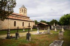 教会公墓 免版税库存图片