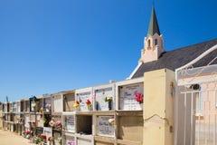 教会公墓Noord阿鲁巴 免版税库存照片