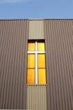 教会内在城市的交叉 库存照片