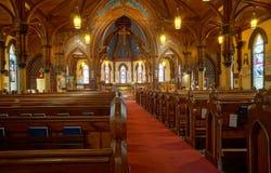 教会内部圣约翰的英国国教的教堂 库存照片
