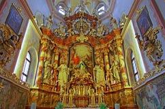 教会内部 图库摄影