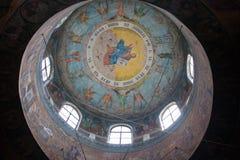 教会内部 库存图片