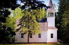 教会农村的密执安 免版税图库摄影