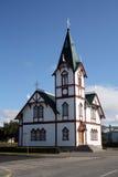 教会冰岛 库存照片