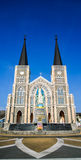 教会前面 图库摄影