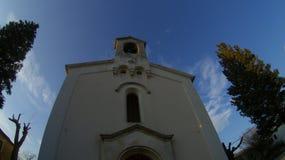 教会前面 免版税库存照片
