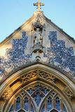 教会前面 免版税图库摄影