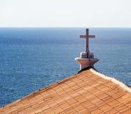 教会十字架 库存图片