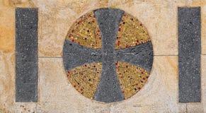 教会十字架 免版税库存照片