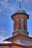 教会半球形的塔 免版税库存图片