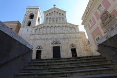 教会卡利亚里 免版税库存图片