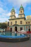教会厄瓜多尔弗朗西斯科・瓜亚基尔圣 库存照片