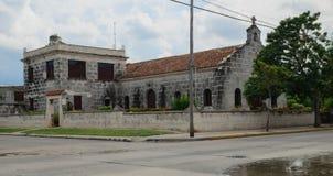 教会古巴 免版税库存图片