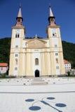 教会和影子 免版税库存照片