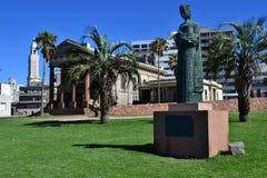 教会和纪念碑在老城市 免版税库存照片